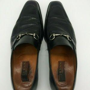 Mezlan Square Apron Toe Horsebit Loafers 11.5 M